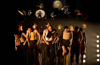 'Political Mother The Choreographer's Cut' by Hofesh Shechter, performed by Hofesh Shechter Company. Photographer Tom Medwell