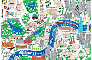 Map Of City Of London.This Kids Map Belongs On Every London Lover S Wall