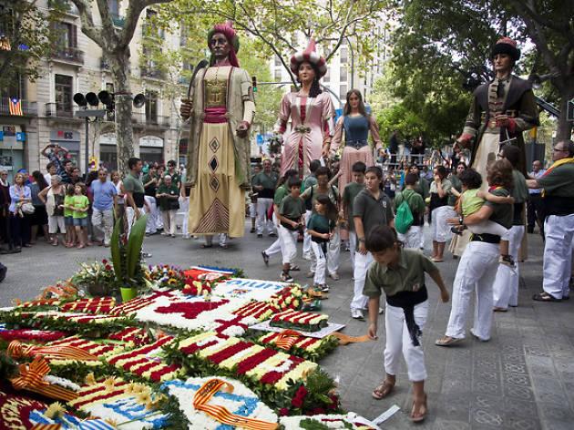 Ofrena floral Rafael Casanovas
