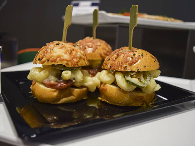 Smoke Sausage Sliders