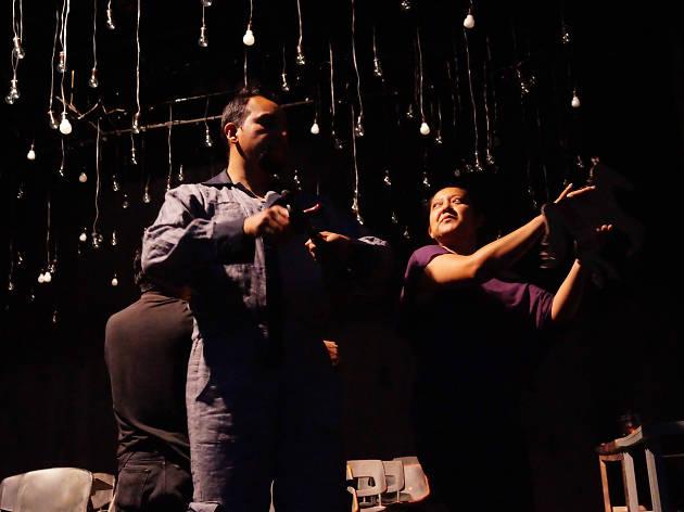 La mirada del inventor ciego es la primera obra para niños de teatro para ciegos