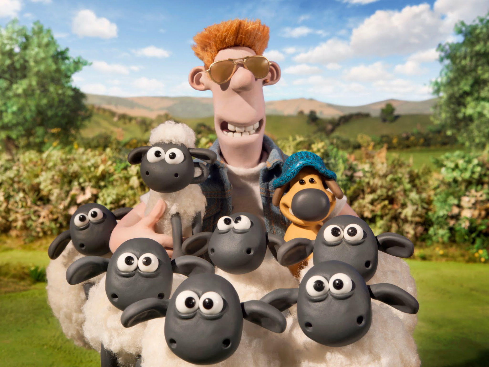 Película animada para niños Shaun el cordero