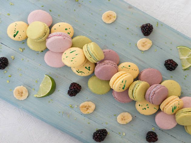 Ganache Macaron