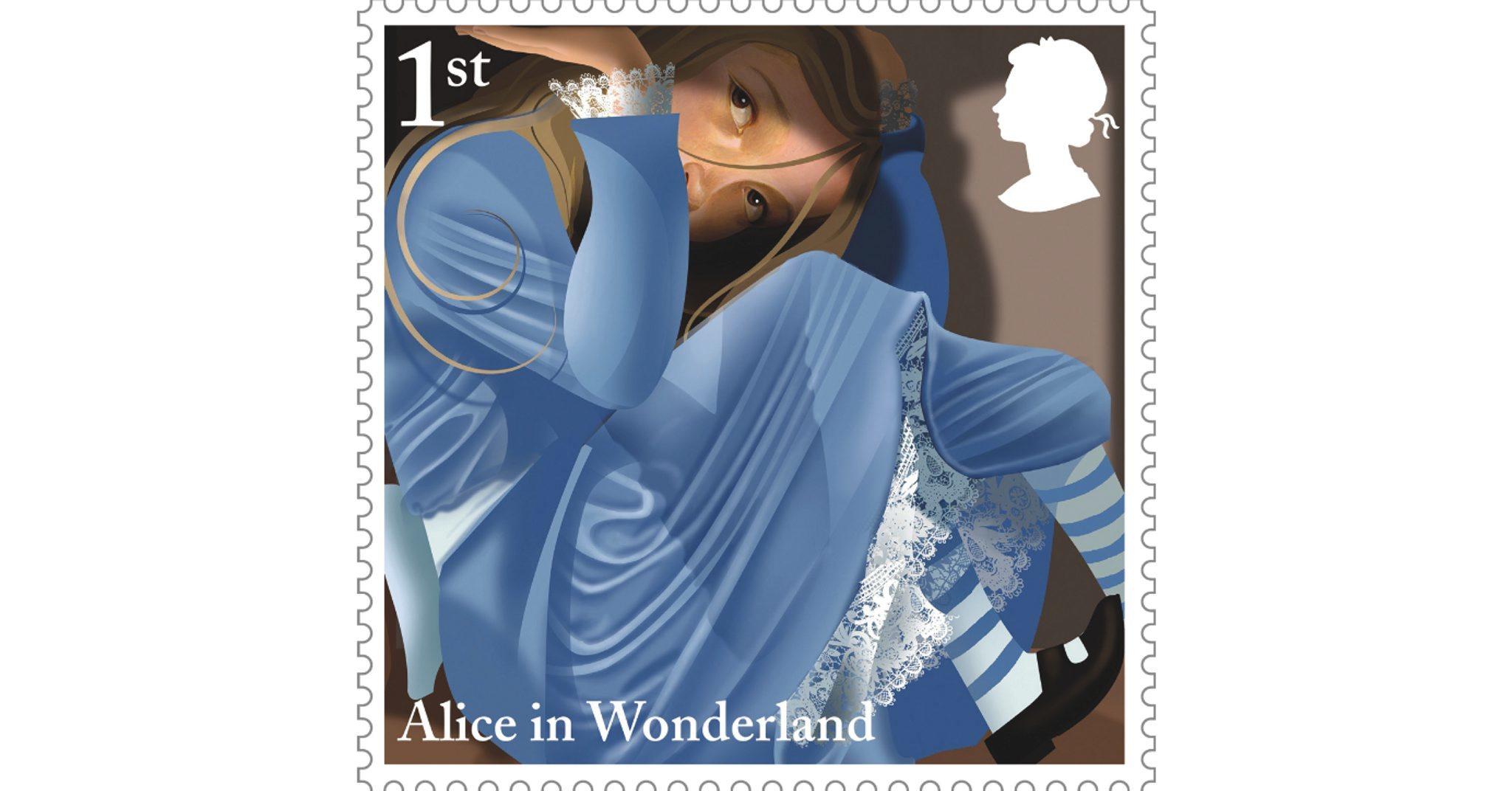 (Grahame Baker-Smith, 'Stamp Design', 2015 © Royal Mail Group Ltd)