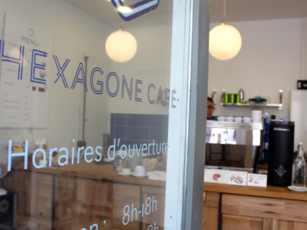 Hexagone café (© EP / Time Out Paris)