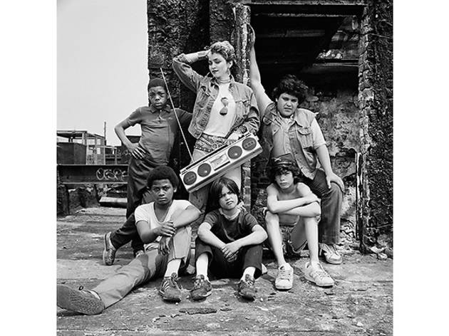 Madonna photographed in the Lower East Side in 1982