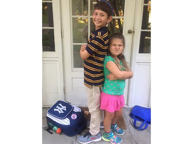Andrew (8), Elizabeth (5), Scarsdale, NY