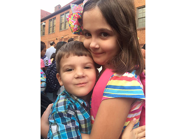 Audrey (7) and Ian (3), Forest Hills