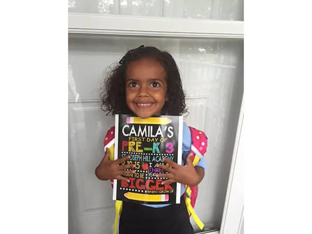 Camila (3), Fort Wadsworth