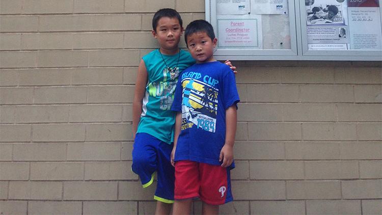 Ethan (8), Lucas (6), Upper East Side