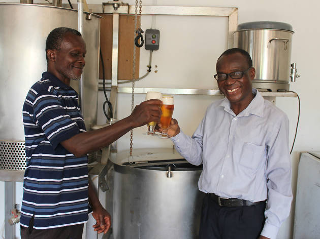 Ghana's first microbrewery