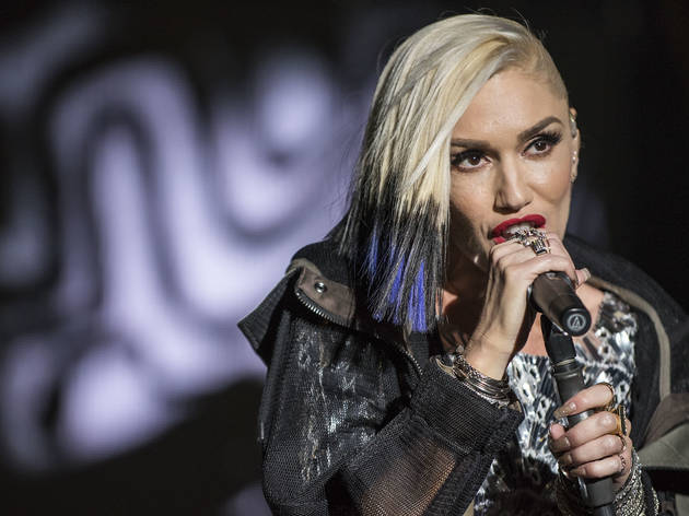 No Doubt performed in Douglas Park on day one of Riot Fest, September 11, 2015.