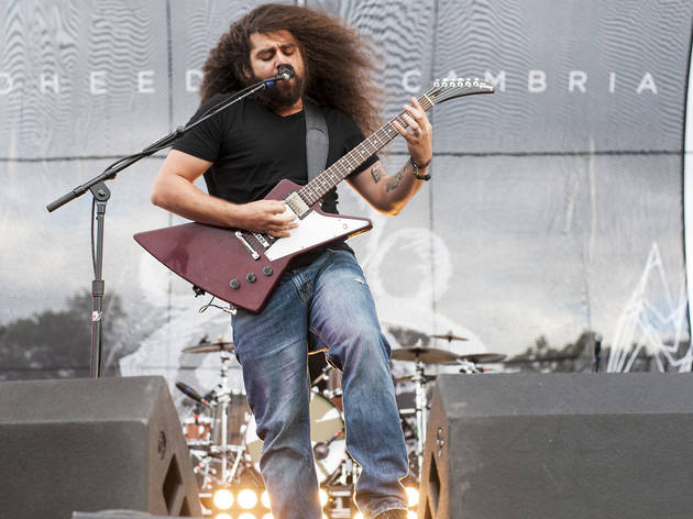 Coheed and Cambria performed in Douglas Park on day one of Riot Fest, September 11, 2015.