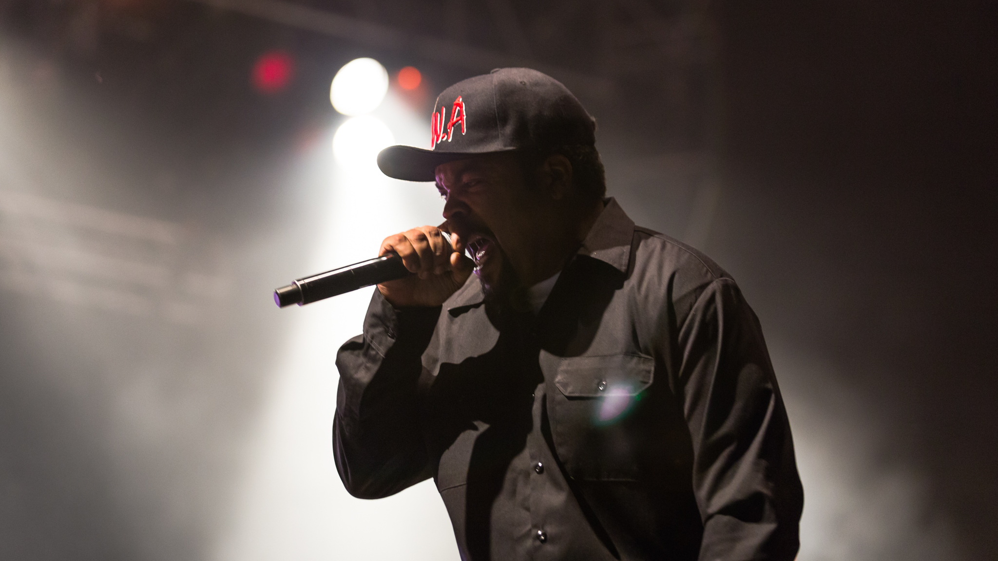Ice Cube performed in Douglas Park on day one of Riot Fest, September 11, 2015.