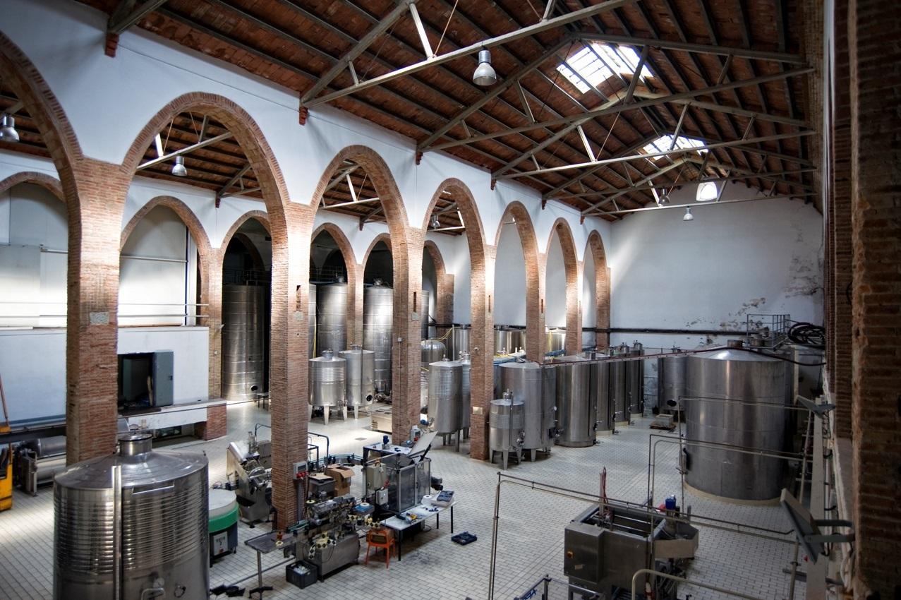 Celler Modernista Alella Vinícola a Teià