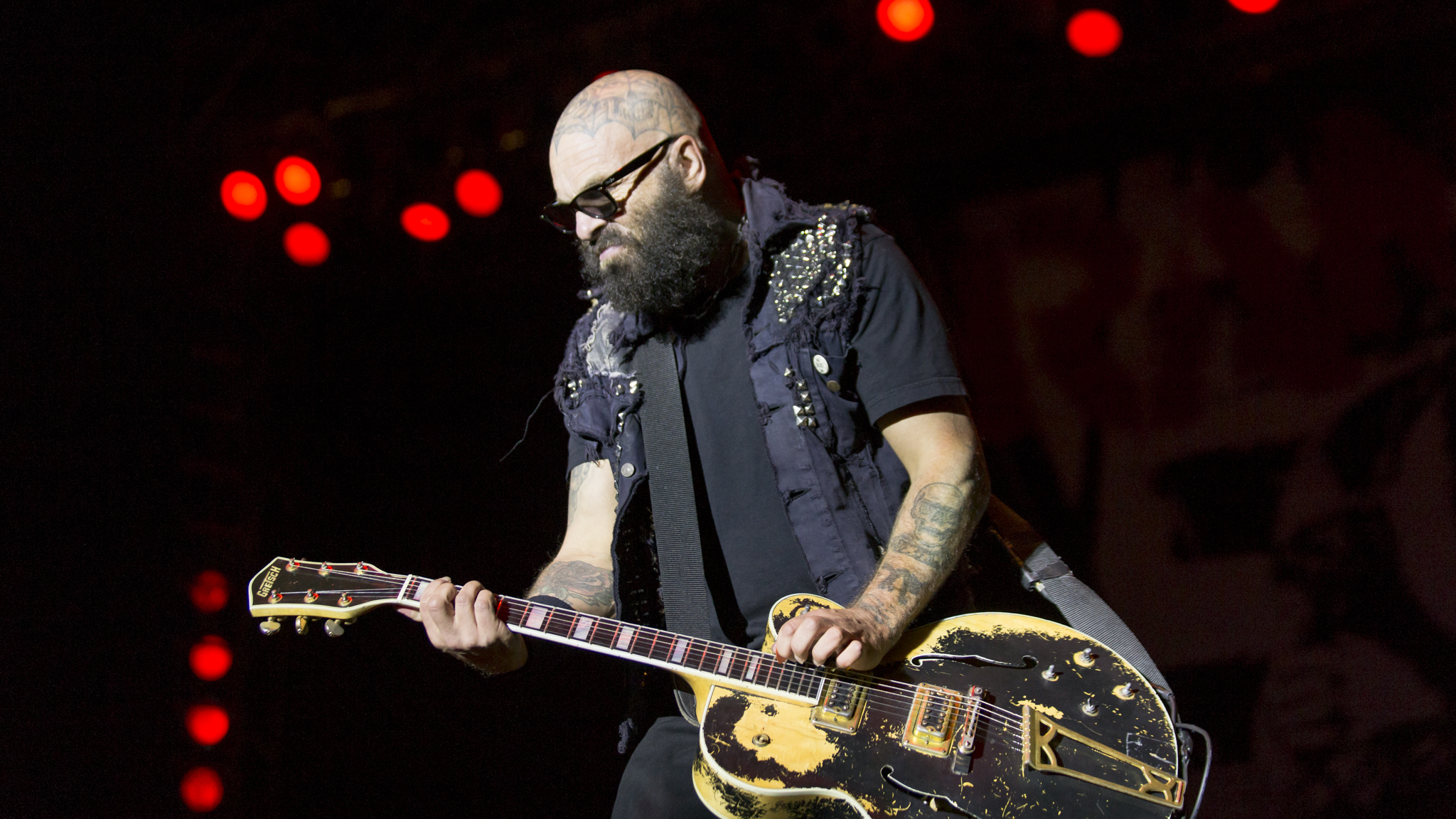 Rancid took the stage on day two of Riot Fest, September 12, 2015.