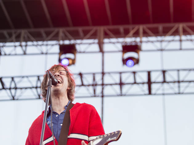 Drive Like Jehu took the stage on day two of Riot Fest, September 12, 2015.