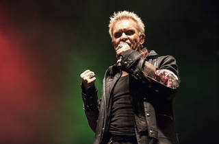 Billy Idol + Sons of the Silent Age