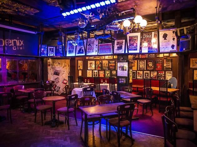 Phoenix Artist Club main bar