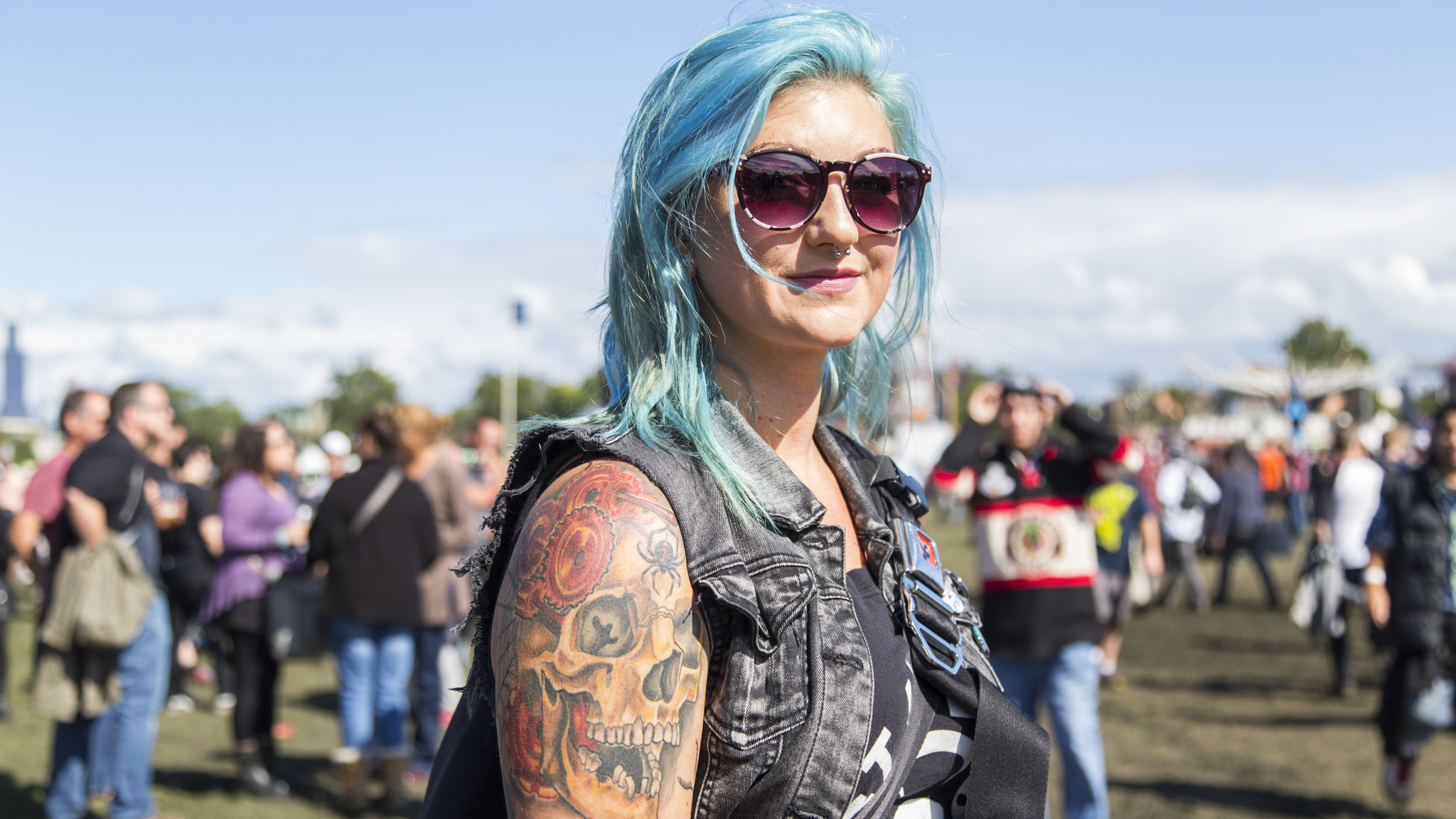 The best festival style at Riot Fest 2015