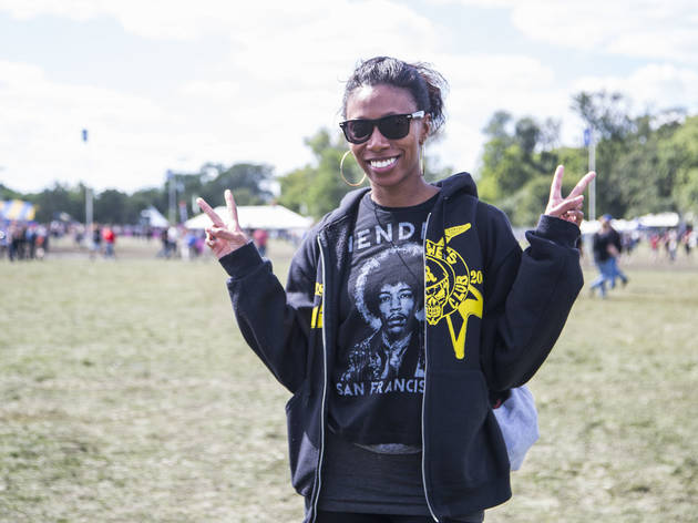 Attendees showed up sporting denim, leather and more great festival fashion at Riot Fest 2015.