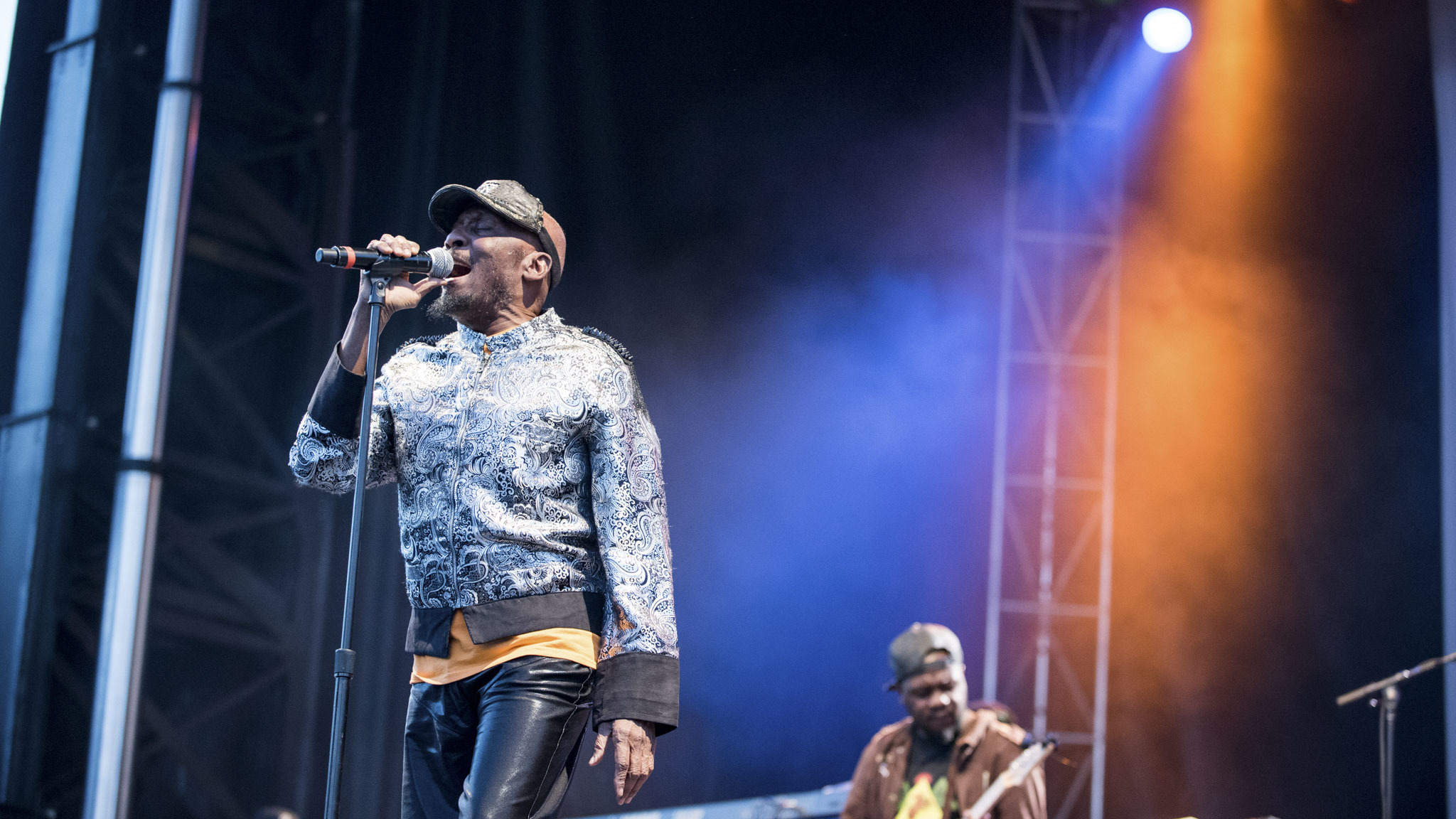 Jimmy Cliff turned in a set on the final day of Riot Fest, September 13, 2015.