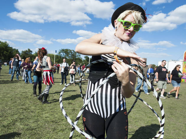 Riot Fest 2015, Sunday: Faces in the crowd