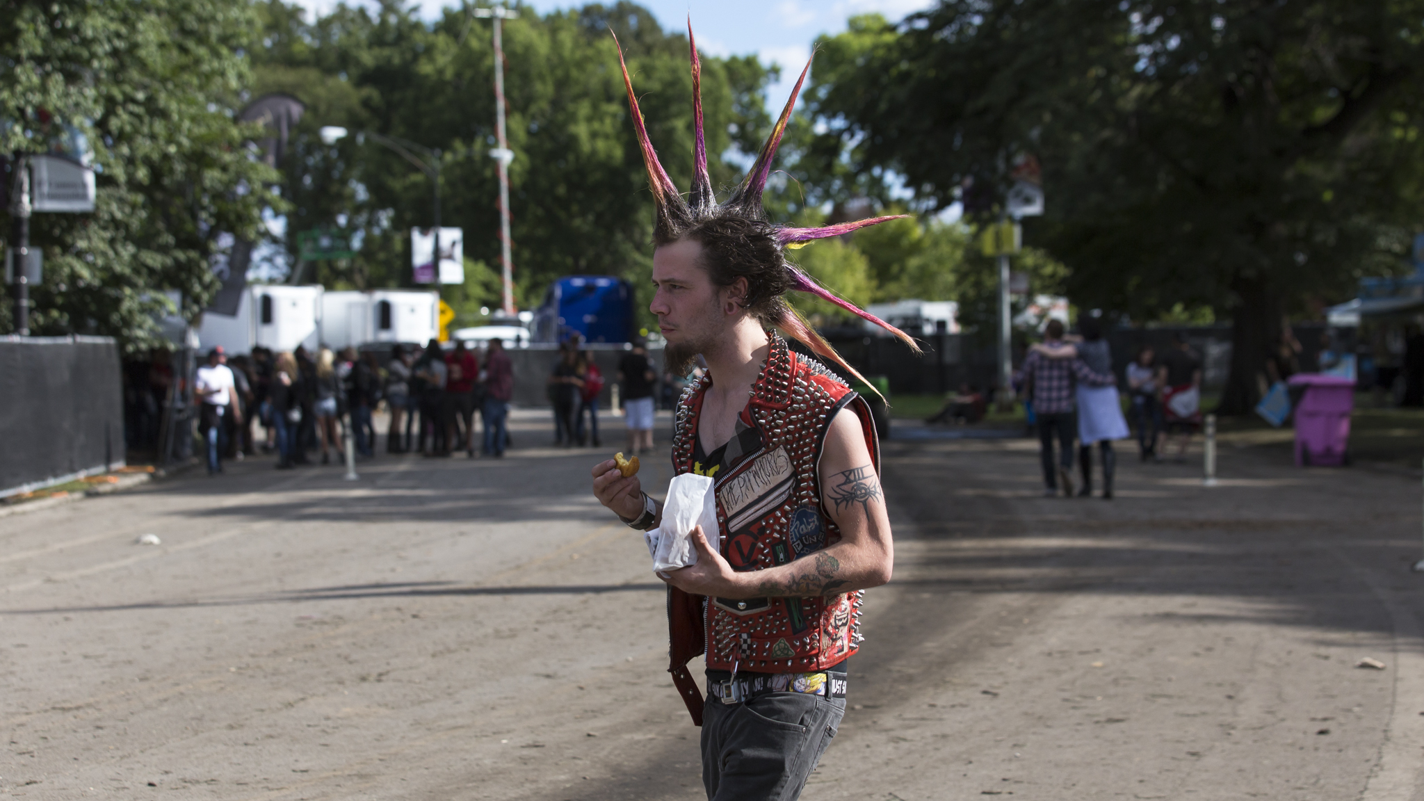 Punks and rockers gathered in Douglas Park for the final day of Riot Fest, September 13, 2015.