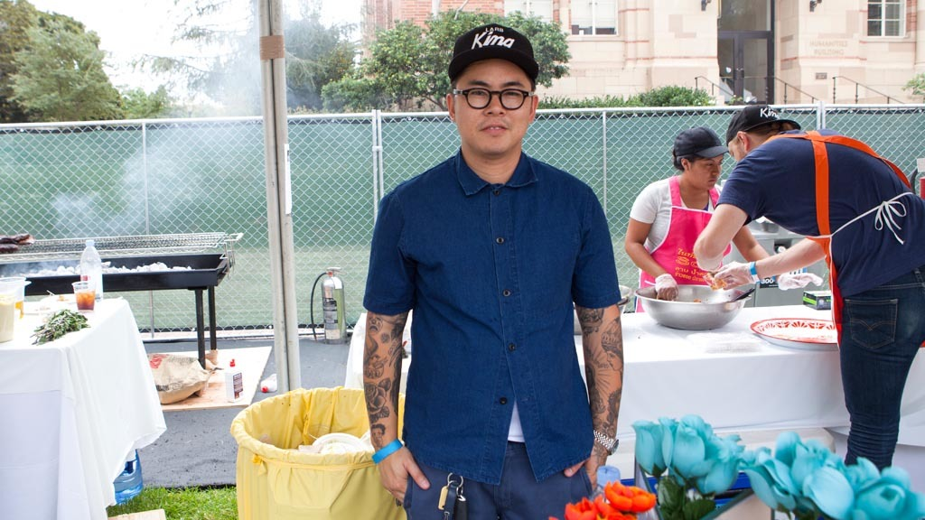 Kris Yenbamroong from Night + Market at L.A. Loves Alex's Lemona