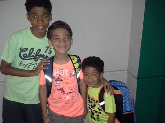 Ethan (12), Vaughn (8) and Avery (4), Stamford, CT