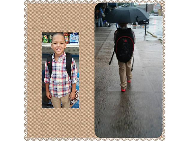 Michael (8), Bronx