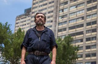 Luis Vega, rescatista en el terremoto del 85