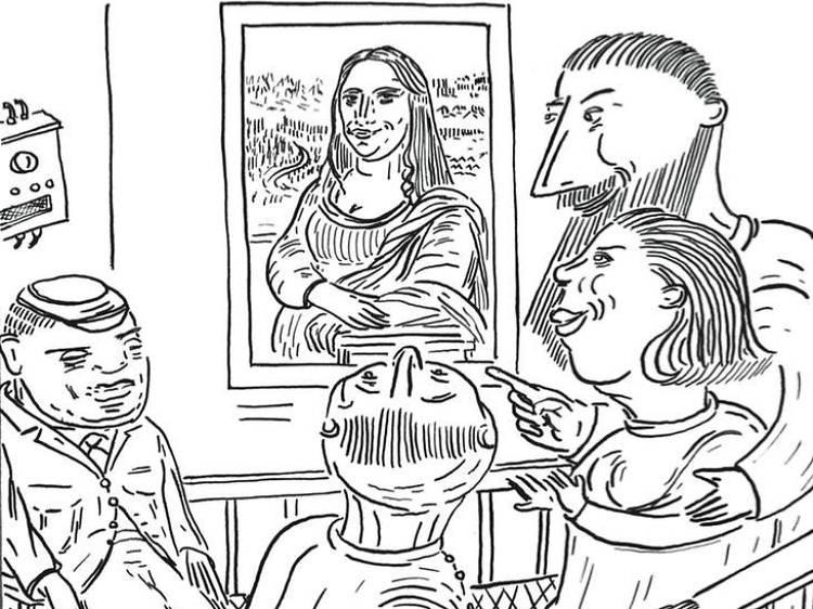 Une BD • Entre Tintin et Van Gogh