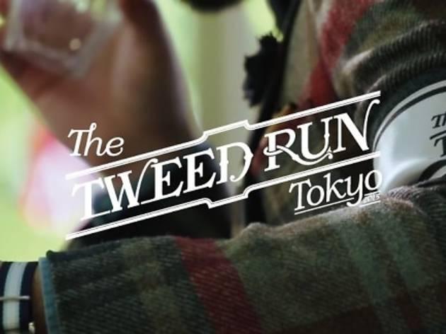 Tweed Run Tokyo 2015