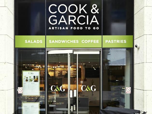 Cook & Garcia, café, Monument
