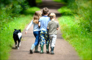 Kids in Epping Forest