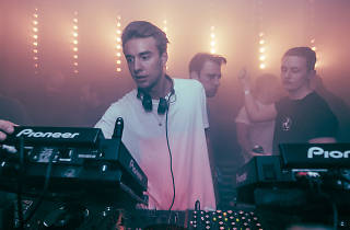 Jasper James with Jackmaster-and-Disclosure at Phononx