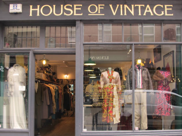 House of Vintage, fashion, Shoreditch