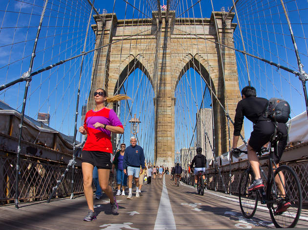Scenic running routes in NYC