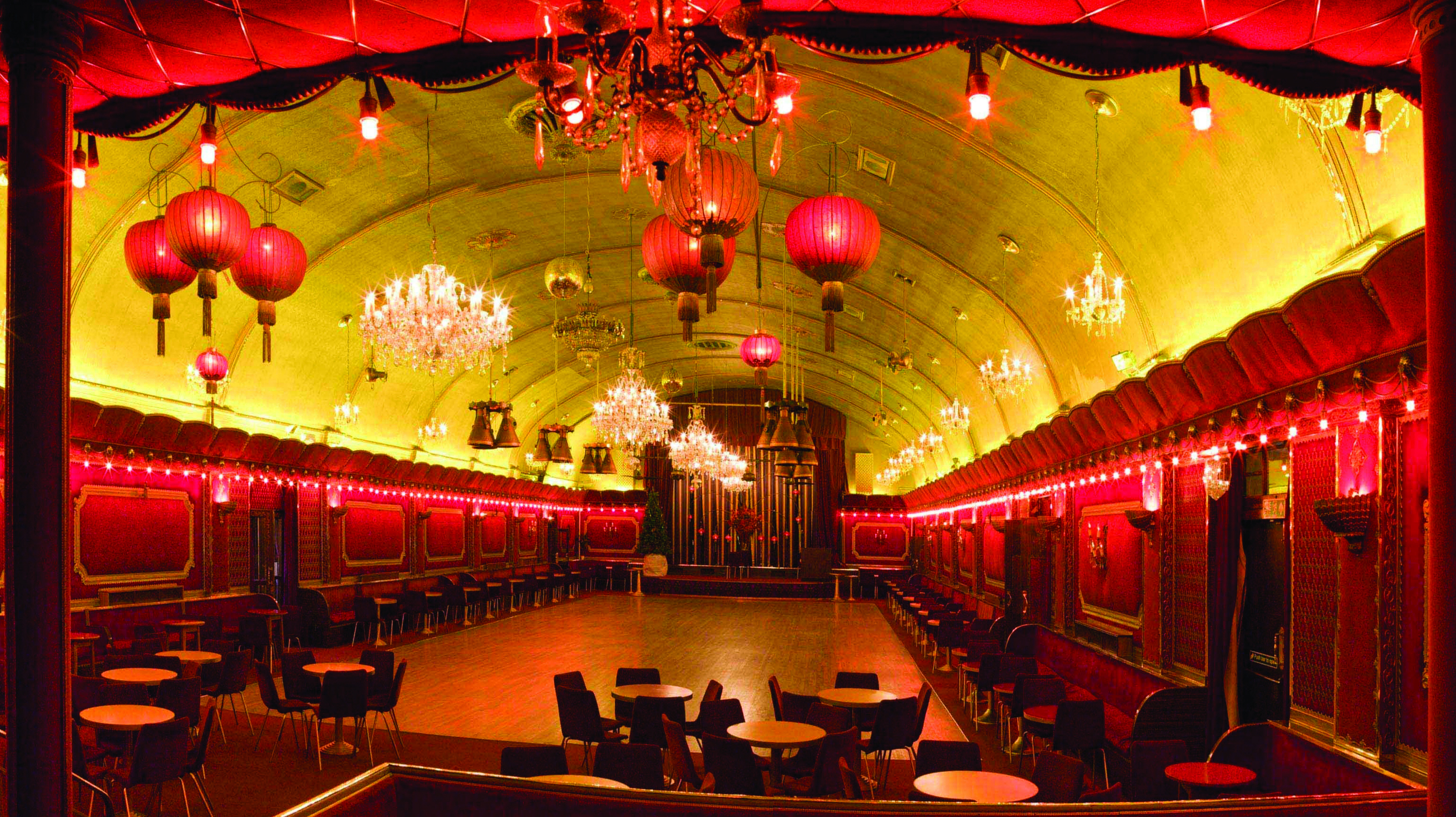 Horror Films at the Rivoli Ballroom