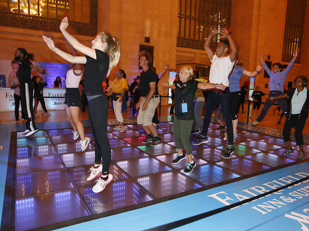 Check out the free all-day dance party at Grand Central Terminal today