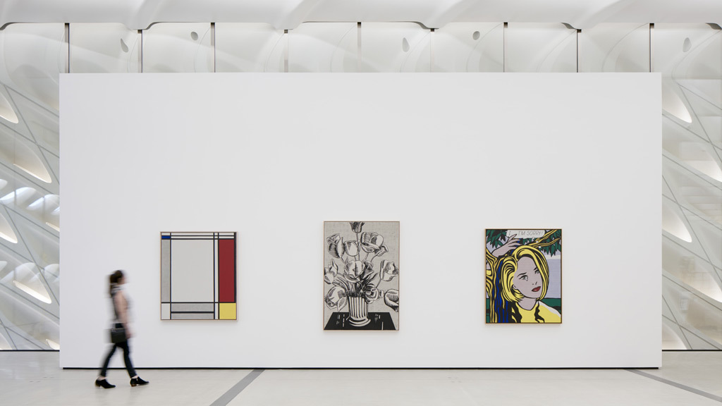 The Broad has a slick app that will actually make your museum visit better