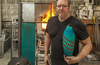 Quit your job, become a... glassblower