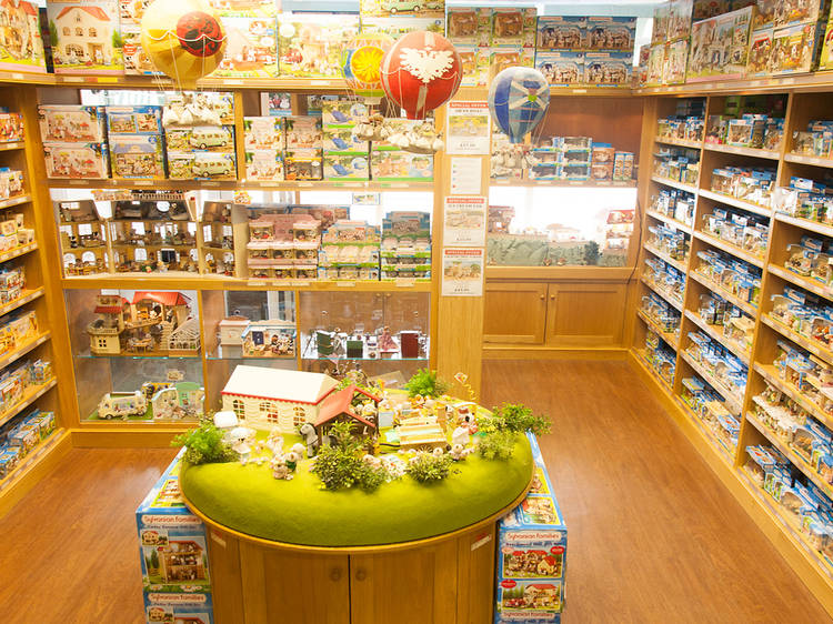 Indulge your inner child at the Sylvanian Families Shop