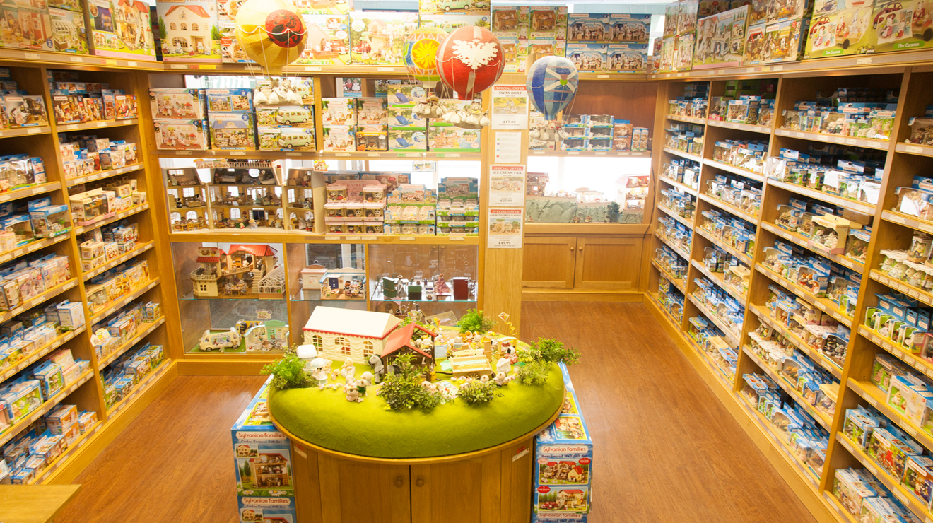 sylvanian families shop shopping in brownswood park london. Black Bedroom Furniture Sets. Home Design Ideas