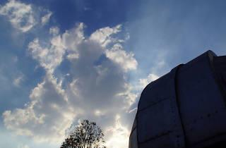 Observatorio Álamos del Parque Xicoténcatl en la colonia Álamos de la Ciudad de México