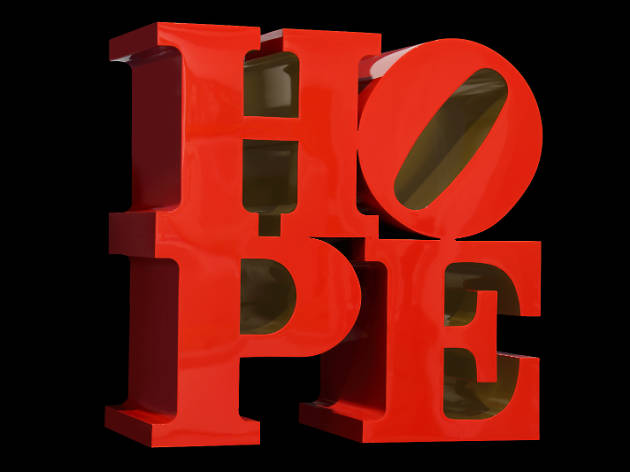 Robert Indiana: Don't Lose Hope