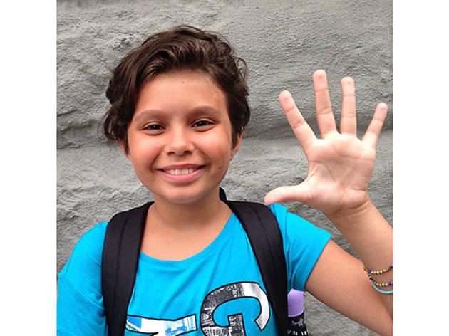 Isabella (9), Upper West Side