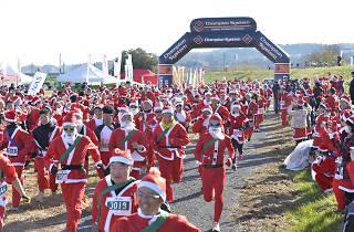 サンタマラソン