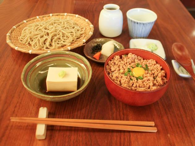 蕎麦 たじま『お昼の献立』(1,000円)